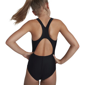 speedo Digital Placement Splashback Swimsuit Girls speedo black/lapis/gal purple